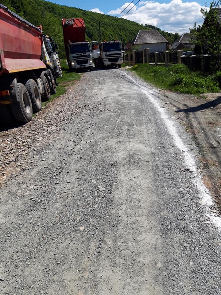 Modernizare drumuri comunale Bârsana