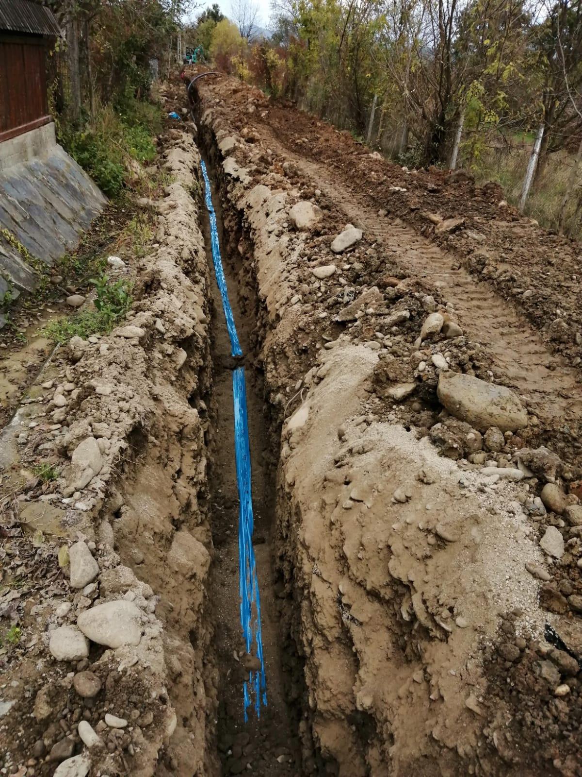 Construcție rețea apă/canal comuna Giulești